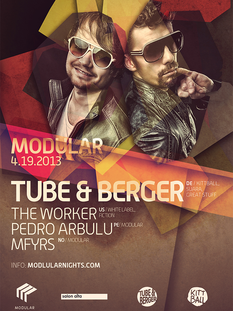 Tube & Berger Modular Nights