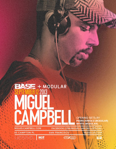 Miguel Campbell Modular Nights