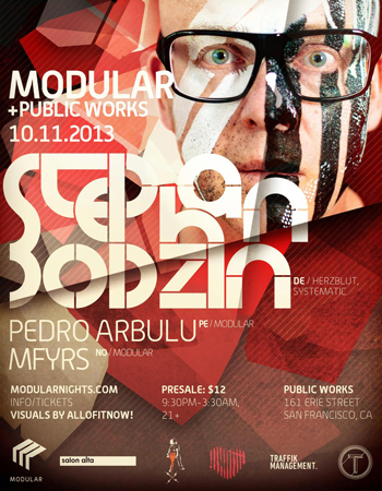 Stephan Bodzin Modular Nights