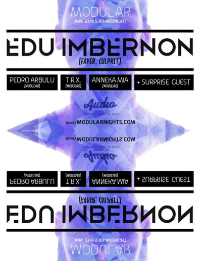 Edu Imbernon Modular Nights