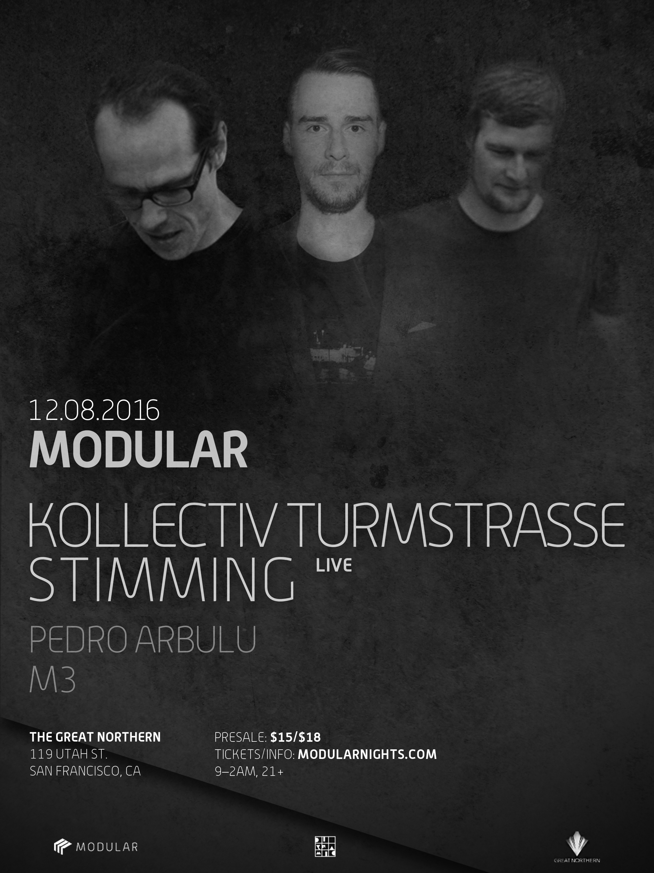 Stimming Modular Nights San Francisco